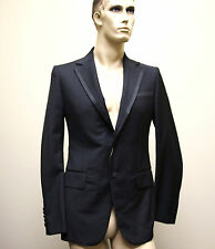 $3250 New Authentic GUCCI Mens Wool Tuxedo Suits 58L/US 48L Two Button 170892
