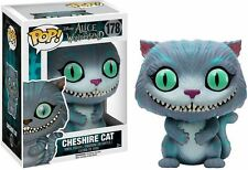 ALICE IN WONDERLAND/ FUNKO POP CHESHIRE CAT 10 CM- VINIL FIGURE #178 IN BOX 4""