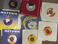 LOT OF 10 45s WITH COVERS, 80s SOUL FUNK DISCO R&B, EX TO N MINT, GREATEST HITS