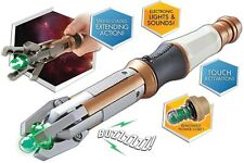 12th Doctor Who Peter Capaldi One Touch Extending Sonic Screwdriver Prop Toy NEW