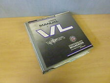 Cincinnati Milacron VL Vista Injection Molding Machine User's Manual 1995 Edit