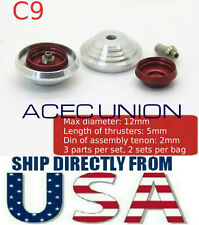 Metal Detail-Up RED Luxury Thruster Set C9 For 1/100 MG Gundam - U.S.A. SELLER