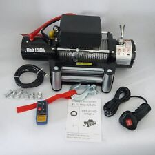 12000LBS 12v Electric Winch for Truck, Trailer, Jeep 12000LBS Recovery Winch