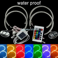 Latest Multi-Color RGB LED Angel Eyes Headlight Halo Ring Light for BMW E39 E46