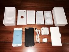 Apple iPhone 6 64GB Gold T-Mobile Box Bundle USB Charger Headphones SOLD AS IS