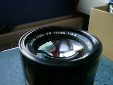 Cannon 135mm 1:3.5Manual Focus Lens made in Japan in lovely condition.