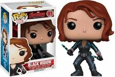 POP! Marvel: Avengers 2 Black Widow - Vinyl Bobble-Head Marvel Ultron Figure New
