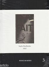 Sophie Ristelhueber - Fait - Books on Books 3