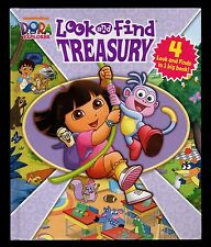 Look & Find Treasury:  Dora the Explorer - MINT- 4  books in  1 HC - Nickelodeon