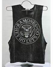 Ramones T Shirt Tank Top Vest Punk Rock Band black unisex tee new size M