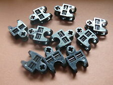Lego 10 connecteurs tech noirs /10 black Axle Connector 2 x 3 with Ball Socket