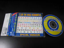 Club New Romantics Japan CD Duran Duran Culture Club Kajagoogoo Limahl Go West
