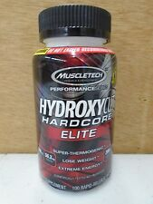 MuscleTech Hydroxycut Hardcore Elite 100 Count ~ Fresh Exp 5-2018 Fresh
