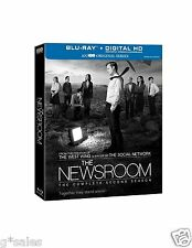 The Newsroom ~ The Complete 2nd Second Season 2 Two ~ BRAND NEW 4-DISC BLU-RAY