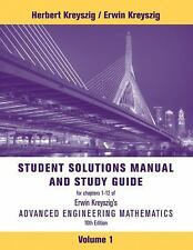 Advanced Engineering Mathematics  Books-Good Condition