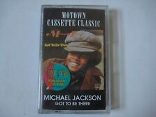 Michael Jackson- Got To Be There Cassette Motown SEALED! R&B