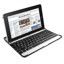 For iPad 2 3 4 Wireless Bluetooth Keyboard World's Thinnest Folio Stand Hol