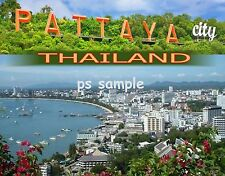 Thailand - PATTAYA - Travel Souvenir Fridge Magnet