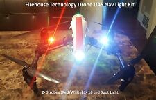 DRONE QUADCOPTER NAVIGATION STROBE LIGHT KIT RC PLANE DJI INSPIRE PHANTOM MAVIC