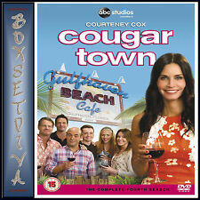 COUGAR TOWN - COMPLETE SEASON 4 *BRAND NEW DVD ***