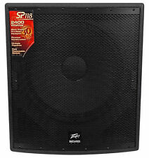 "Peavey SP 118 18"" 2400 Watt Passive Flyable Black Widow Subwoofer Sub SP118"