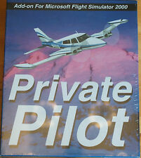 Private Pilot ADD ON for Flight Simulator 2000 by Abacus Sealed Box USA