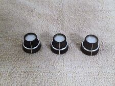 Set of OEM TEAC R1000 Tape Deck Input Output Control Knobs Very Good Condition