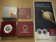 25 Euro Niob Silber KOSMOLOGIE 2015 Österreich Silver Niobium