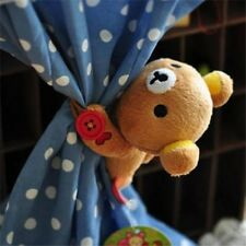 New curtain buckle Cartoon Rilakkuma Bear Curtain Belt decor kid's Door Curtain