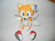 """NANCO SEGA TAILS FROM SONIC THE HEDGEHOG PLUSH TOY WITH TAG APPROX 12"""" TALL"""