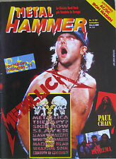 METAL HAMMER 9 1995 Metallica Extrema Paul Chain Kreator Joey Tempest Therapy?