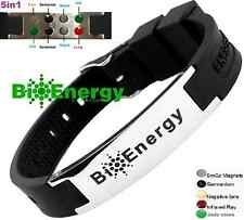 Jade Magnetic Energy Germanium  Power Bracelet Health 5in1 Bio Armband BAND