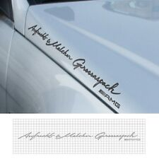 Detailpart Car Full Name Sticker Decal (25.59 inch) for Mercedes-Benz & AMG