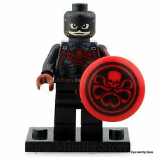 Custom Captain Hydra Minifigure Marvel Superhero fits with Lego pg 052 UK Sellar