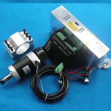 400W Air cooled Spindle Motor + BLDC Motor Controller + Motor Power + Mount 48V