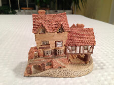 "VTG 1980 DAVID WINTER ""Market Street"" Hand Made/Painted Sculpture John Hine Ltd"