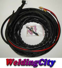 WP-20-25R 25-ft 250 Amp Water-Cooled TIG Complete Welding Torch with Accessories