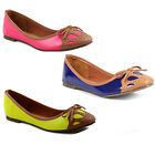 New Ladies Dolcis Patent Ballet Flats Pumps Dolly Shoes Sizes UK 3 4 5 6 7 8