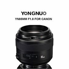Yongnuo YN85MM F1.8 AF/MF Medium Prime Fixed Telephoto Lens for Canon 600D 7D