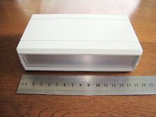 Hobby Project Plastic Aluminium Box Case for Electronics. NEW, not diecast ali.