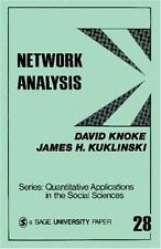 Network Analysis (Quantitative Applications in the Social Sciences)-ExLibrary