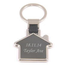 Personalised Engraved House Key Ring - New Home Gift