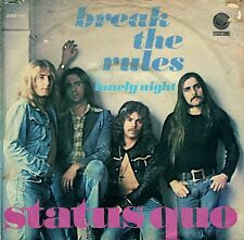 "7"" Status Quo – Break The Rules // Rare Dutch 1974"