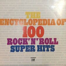 VA The Encyclopedia Of 100 Rock'N'Roll Super Hits Records 5 EX+ TVP 1009 LP