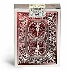 Bicycle MetalLuxe Playing Cards, Crimson Luxe (Red), New & MINT!