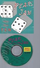 CD--PEARL JAM -- MORE THAN TEN -LIVE, LOS ANGELES AND ZUERICH, 1992-