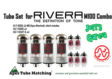 Tube set for Rivera M-100 Combo Jerry Garcia guitar amplifier vacuum valve tubes