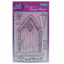 Sweet Dixie A6 Clear Stamp Set - SDCSA6093 Christmas Fairy Door