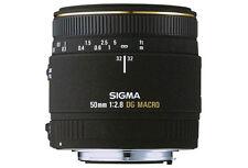 Sigma 50mm f2.8 OBIETTIVO MACRO EX DG-Canon EOS Fit