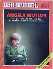 SPIEGEL 49/2008 Angela Merkel und die Wirtschaftskrise